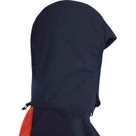 GORE WEAR R7 Partial Gore-Tex Infinium Kurtka z kapturem Kobiety, pomarańczowy/niebieski
